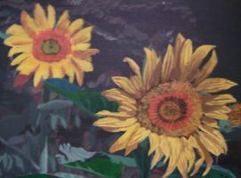 Sunflowers by PlayerBill