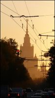 Evening in Moscow_3 by Fedorrrz