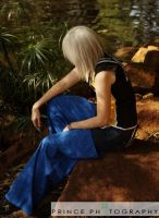 Riku - In Deep Thought by ShadowsMask