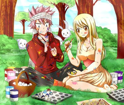 Nalu Easter Collab with Geghanush by SabZac