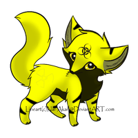 Radioactive Fox Adopt -Taken- by Darketh90