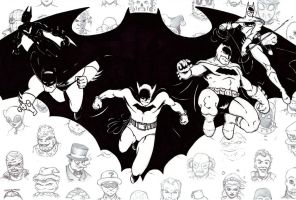 Batmen (final) by MDMacKay