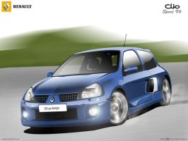 Renault Clio Sport by josepa
