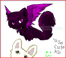 iScribble kitty :3 by Spottedfire-cat