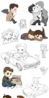Supernatural collage 7 by DeanGrayson