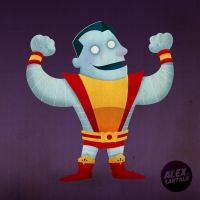 Colossus vectorized by alexsantalo