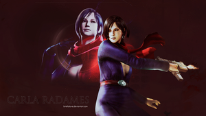 Carla Radames Wallpaper by BriellaLove