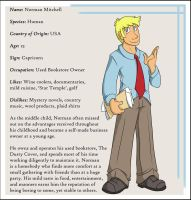 Character Bio: Norman by Everyday-Grind-Comic