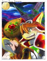 Solatorobo: And then to CODA.- Prologue by soul-silver-dragon