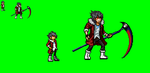 Yaser Flame Rumble sprites by RyogaOkumura