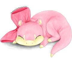 Slowpoke by MaggotsPlz