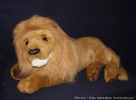 Douglas Cuddle Toys - Lord Titan Lion Plush by dapumakat