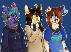 guis i did anthro by Crazycat2109