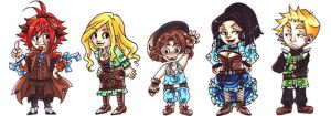 OoME: Chibis by lacuna-purify