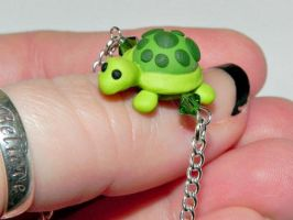 Chubby Turtle Necklace by Secretvixen