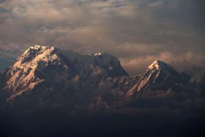Sunset on the Annapurna by paloma-palomino