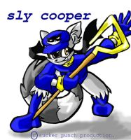 Sly Cooper by jmynstyx