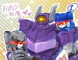 TF : HBD to me by RadeRizo