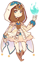 Holy Mage Girl Adoptable Auction *ENDED* by Butcherer