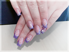 Nail art 264(Gel nails) by ChocolateBlood