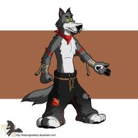 Devon Wolf by FreezingIceKirby