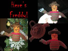 Freddy Krueger Ornament by adagiobreezes