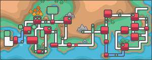 Tohjo map highlighted. the This from SoulSilver, by AllPokemonArts