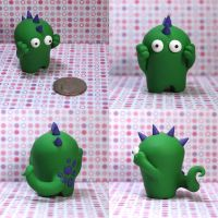 Puntor the Timid Monster by TimidMonsters