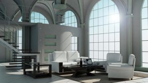 penthouse interior by offmega