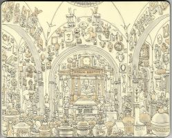 the Soane museum by MattiasA
