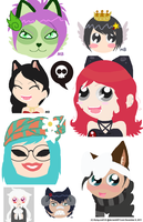 Gaia Online Doodle Dump by flying-wolf-32