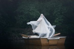 Ghost of the lake... dancing by S-T-A-R-gazer