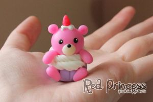 pullring ursinha cupcake by theredprincess