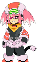 MIGHTY No.9 - PINK CALL by mdkex