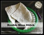 Double Moss Stitch on a Loom by LoomaHat