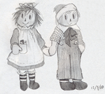 Raggedy Little Rascals by InsanePurin