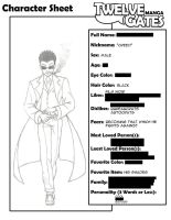TG Character Sheet - Creed by redcarstudios