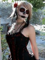 Day of the Dead Girl by CreatureFeature17