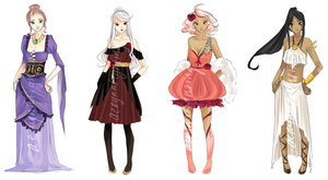 Adoptables FOR SALE {points only} CLOSED by seyuri