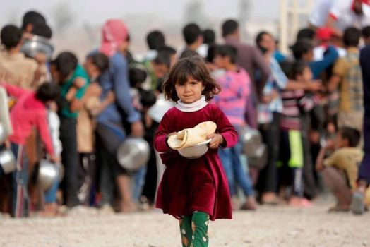 Displacement from Mosul by raedalbustany
