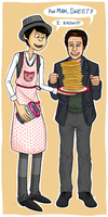 thanks for my voice i made you some pancakes by Spunky-Sora