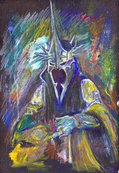 The Witch King of Angmar by LukeFielding