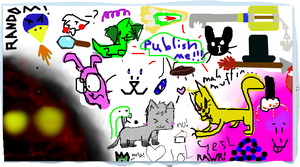 iScribble collab by Stealthfire231