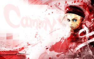 Cammy Wallpaper Delta Red ed by GAVade