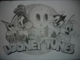 baby looney tunes by harlowspark