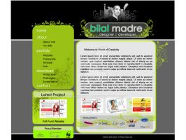 My Website Artwork Layout by MadreMedia
