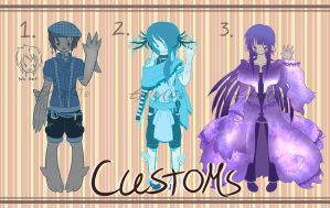 .: CUSTOM ADOPTABLES :. (CLOSED) by GloryCat