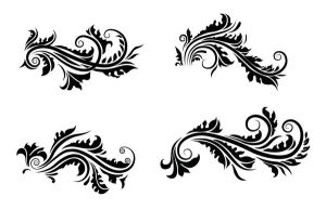 floral motifs - WIP by T3hSpoon