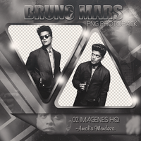BRUNO MARS (PNG Photopack) by LoveEm08