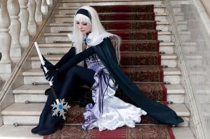 Shining Tears - Blanc Neige II by scentless-flower